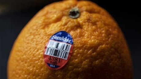 Orange with PLU