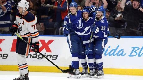 Oilers Lightning Hockey