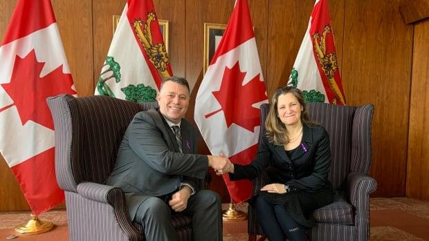 Deputy Prime Minister Chrystia Freeland visiting P.E.I. Friday | CBC News