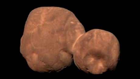 Arrokoth - from New Horizons