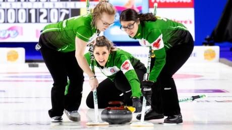 Robyn Silvernagle Team Saskatchewan Scotties Tournament of Hearts 2020