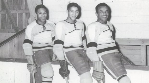 This rural Ontario black hockey line broke barriers — producing generations of star players | CBC News