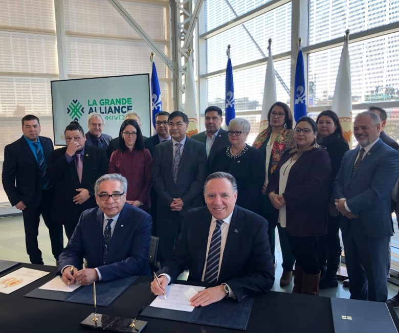 Cree Mother Thirst striking from $4.7 billion Growth agreement with Quebec thumbnail