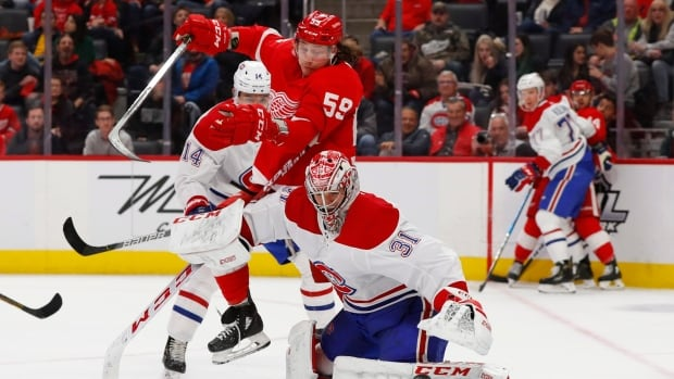 Habs collapse late to suffer season series sweep at hands of league-worst Red Wings