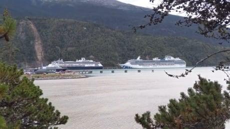 Skagway cruise ships