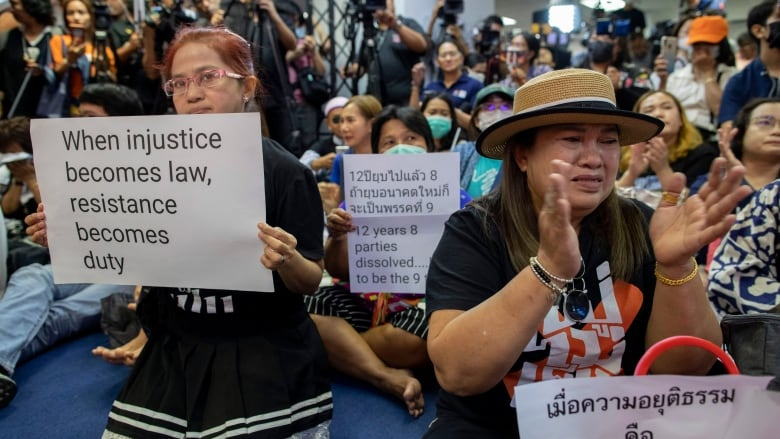 Thai court dissolves main opposition party over 'illegal' loan