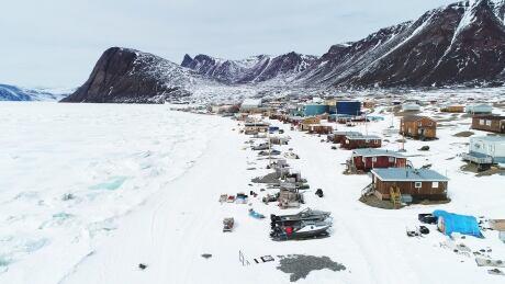 High Arctic Haulers Grise Fiord shoreline