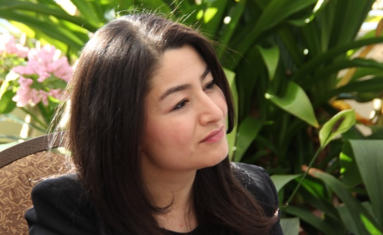 minister for women and gender equality and rural economic development maryam monsef listens to researchers at the university of guelph on friday feb 21 2020