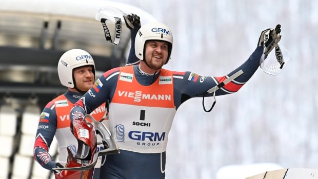 Russia wins pair of golds at protest-marred luge World Cup in Winterberg | CBC Sports