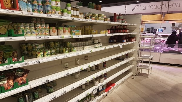 Panic buying in China and Italy a fresh reminder to be prepared: Don Pittis   CBC News
