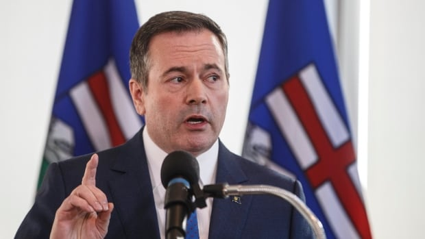 Kenney promises new law to protect 'critical infrastructure' after Teck Frontier withdrawal | CBC News