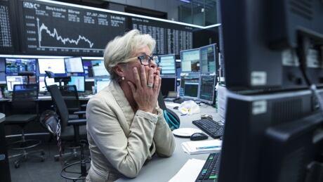 nervous market trader