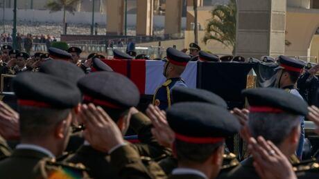 Egypt Mubark Funeral