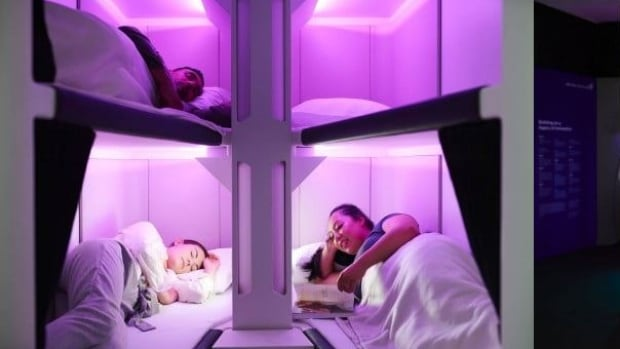 Air New Zealand to test out bunk beds in economy class | CBC News