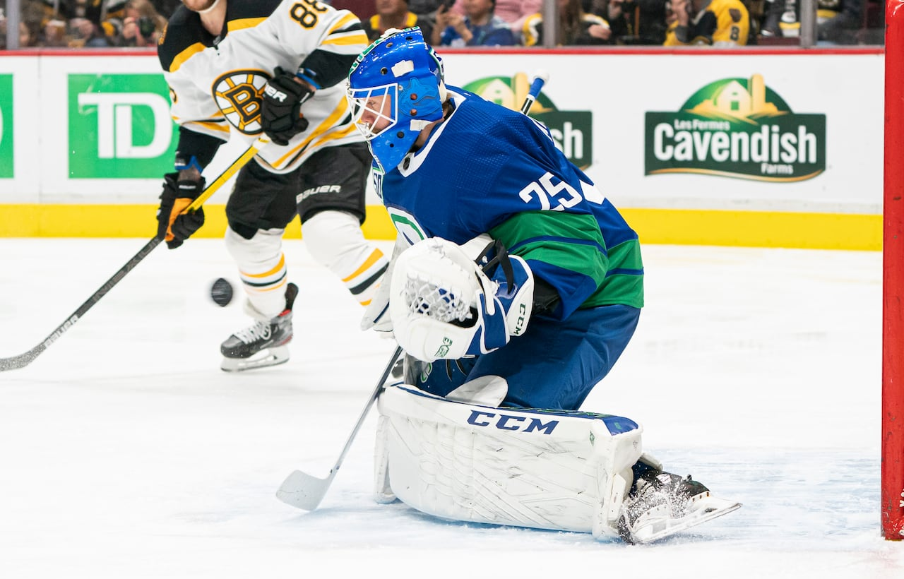 Canucks Markstrom Undergoes Lower Body Procedure Will Be Re Evaluated In 2 Weeks Cbc Sports