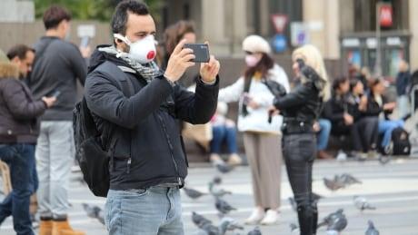 Piazza del Duomo - Milan and coronavirus