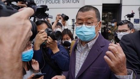Hong Kong Politics Activists Held