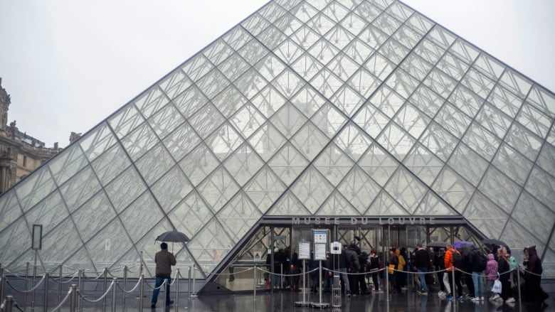 Paris' Louvre Closes as France Bans Large Gatherings Amid Coronavirus Outbreak