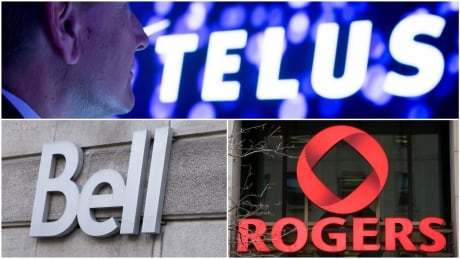 Bell, Rogers Telus, the big 3