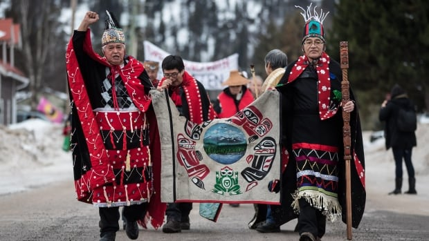 Wet'suwet'en hereditary chiefs, Lake Babine Nation get funding from B.C. government | CBC News