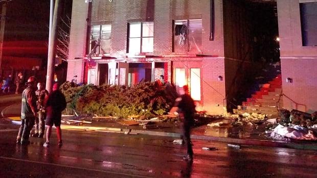 Nashville woman describes dramatic escape from home as tornado rips through city - CBC.ca