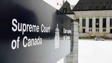 Supreme Court of Canada Sign Winter 2018