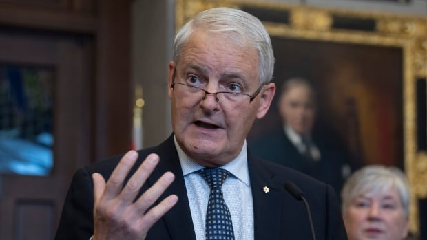 Garneau expands required use of face masks on planes, trains, ships and transit | CBC News