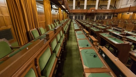 Fold up seats in the House of Commons