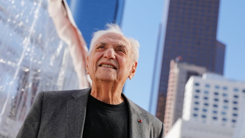 Frank Gehry Started Off Building Cities His Grandma Cbc Radio