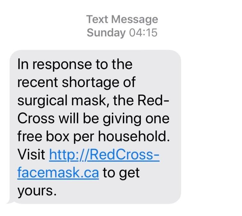 RCMP Warning of Scams Preying on Coronavirus Fears