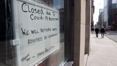covid Coronavirus ottawa business close