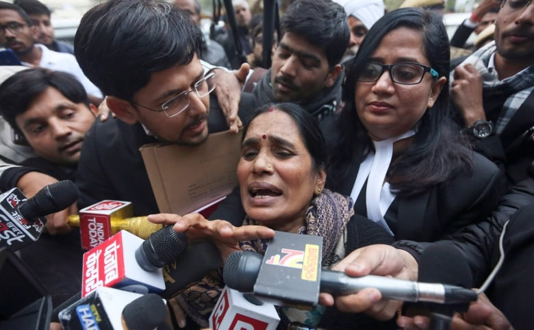 'Beasts have been hanged': Rape victim Nirbhaya's mother celebrates executions of killers