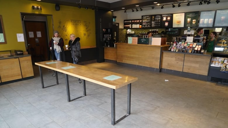 Starbucks is closing access to its cafes