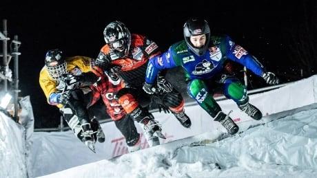 CBC Sports Late Night: Red Bull Ice Cross World Championship - Quebec