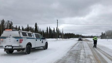 border stop at Enterprise