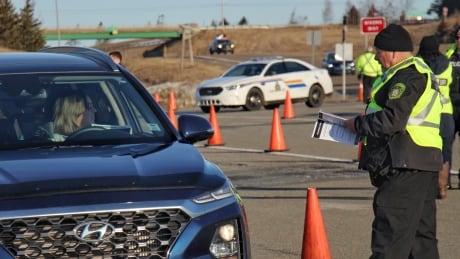 Nova Scotia border stops