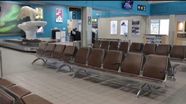 yellowknife airport.