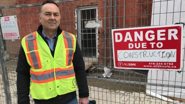 'We had to put a foot down': Some construction workers in Ontario halt work despite being 'essential service' | CBC News