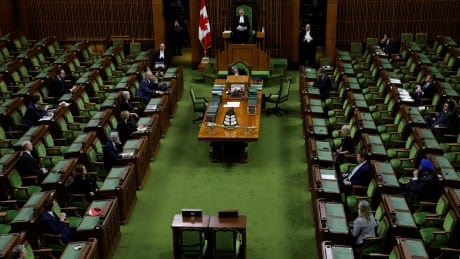 HEALTH-CORONAVIRUS/CANADA House of Commons