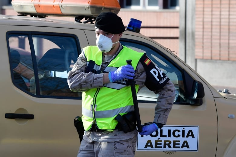 Number of deaths in Spain rises by 832 in just 24 hours