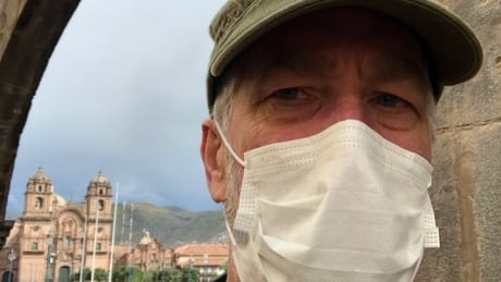 Peter Swanson in Peru