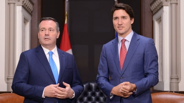 In letter to PM, Kenney calls for consequences or compensation over Keystone XL cancellation | CBC News