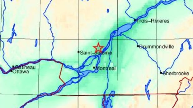Minor earthquake shakes things up north of Montreal | CBC News
