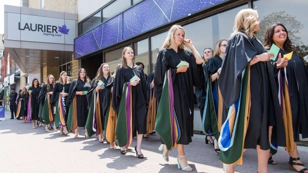 UW, Laurier cancel and postpone scheduled 2020 spring convocation   CBC News