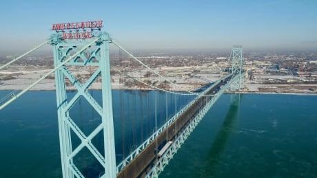 Ambassador Bridge Windsor Detroit