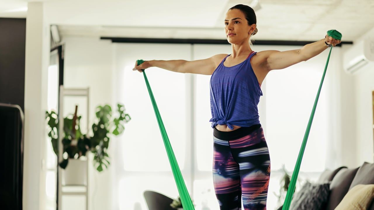 Got Resistance Bands Just A Kettlebell These Workout Videos Use The Fitness Gear You Might Have At Home Cbc Life