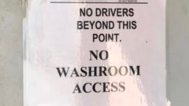 'There's the bush': Truckers face challenges finding bathrooms, meals | CBC News