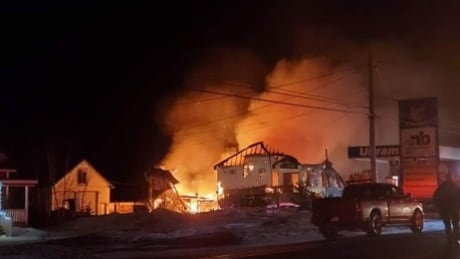 Saint Sauveur fire