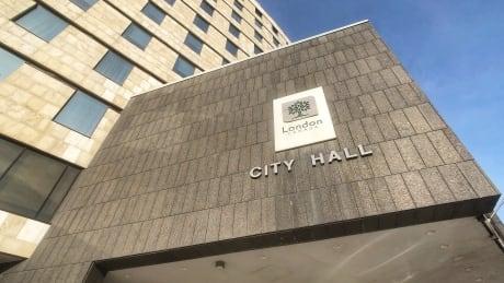 London City Hall Winter