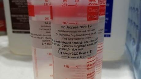 62 degrees hand sanitizer